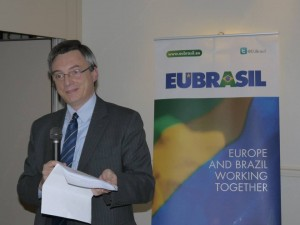 Stefano Agnelli, the director of European Institutional Affairs at Eutelsat and a member of EUBrasil